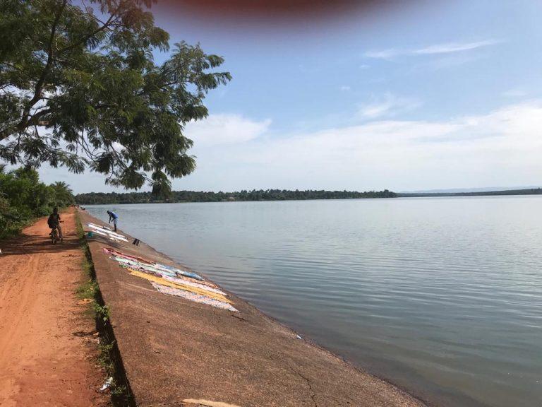 Dam for irrigation, Koba, Guinea, 2019