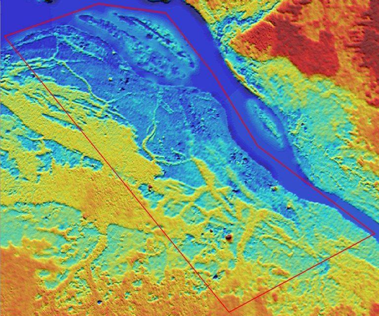 Lotokila sattelite map, DRC